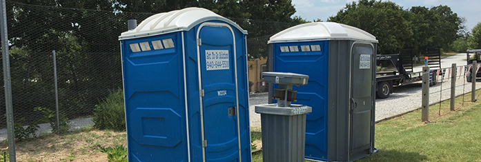 Portable Hand Washing Station & Porta Potty Rental