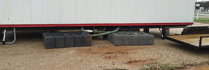 Water Holding Tank Rental in Texas