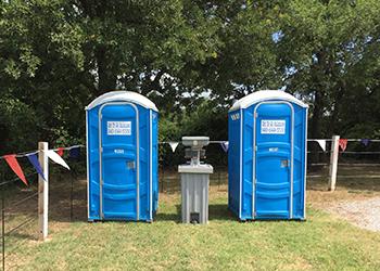 Porta Potty & Hand Washing Station Rental